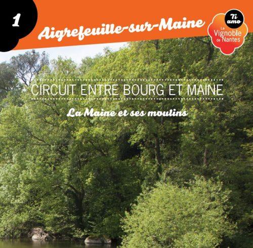 Tarjeta de circuito entre bourg et Maine en Aigrefeuille sur Maine