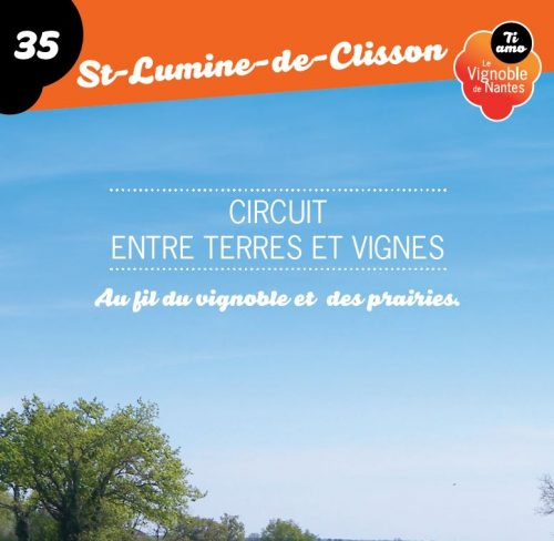 Tarjeta de circuito entre terres et vignes en St-Lumine de Clisson