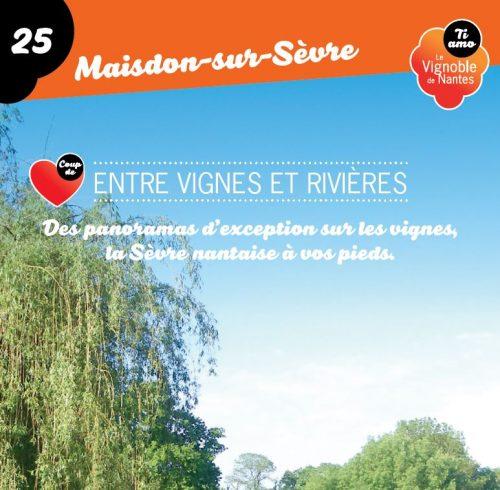 Tarjeta de circuito Entre vignes et rivières en Maisdon sur Sèvre