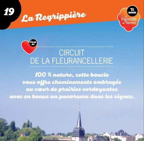 Tarjeta de circuito la Fleurancellerie en la Regrippière
