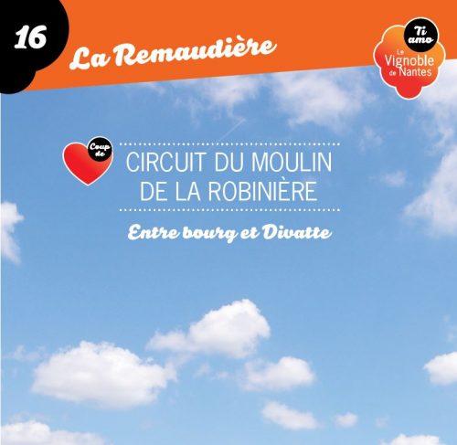 Tarjeta de circuito le moulin de la Robinière en la Remaudière