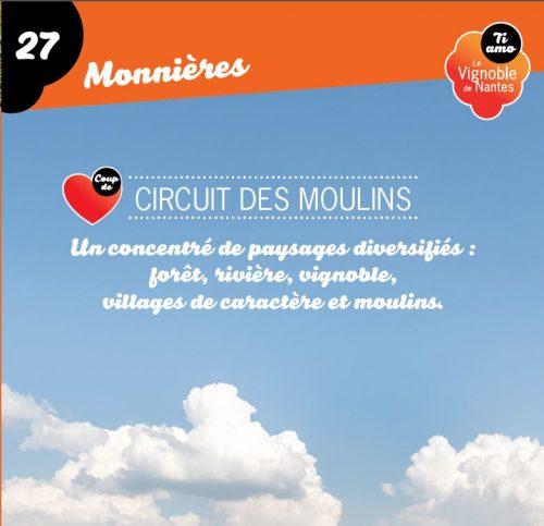 Tarjeta de circuito les moulins en Monnières