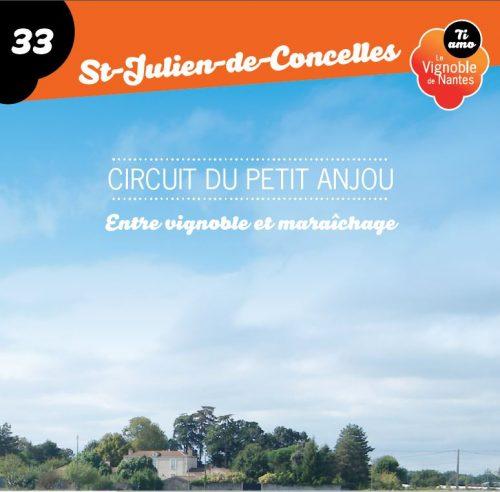 Tarjeta de circuito le petit Anjou en St-Julien de Concelles