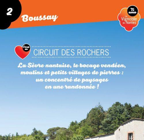 Tarjeta de circuito les rochers en Boussay