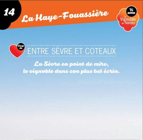 Tarjeta de circuito Sèvre et coteaux en la Haye Fouassière