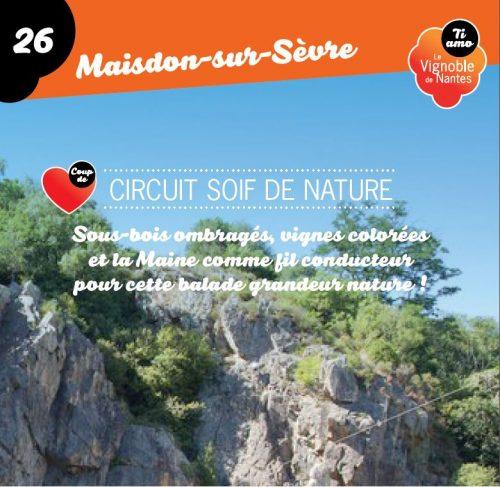 Tarjeta de circuito  soif de nature en Maisdon sur Sèvre