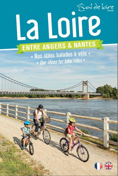 Mapa turístico el Loira entre Angers y Nantes